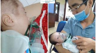 Mẹ Hà Nội mang bầu khổ tận cam lai, sinh đôi