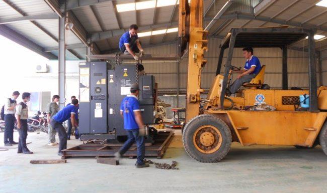 Dịch vụ chuyển kho xưởng không lãng phí thời gian