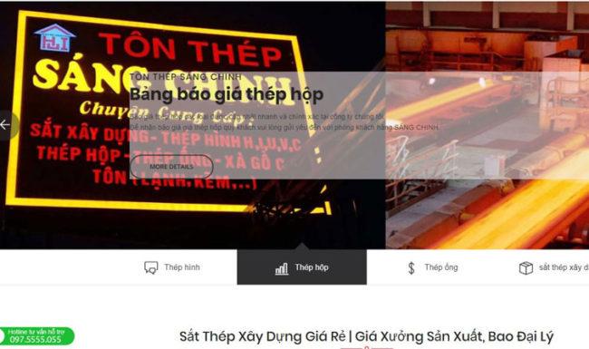 Công ty tôn thép Sáng Chinh luôn đảm bảo chữ tín