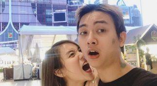 Vợ chồng Hoài Lâm nhắng nhít du lịch Thái Lan