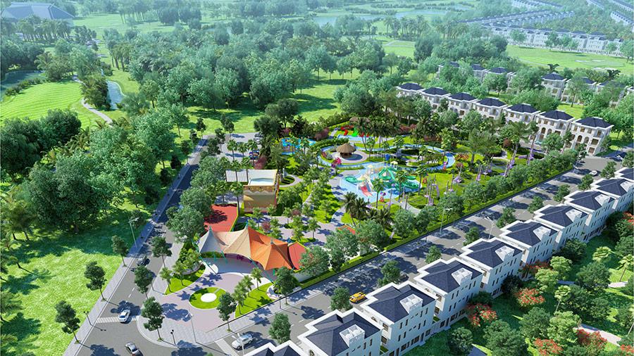 West Lakes Golf & Villas dự án đầy tiềm năng tại Long An