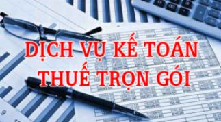 Dịch vụ kế toán tại Tphcm năm 2020